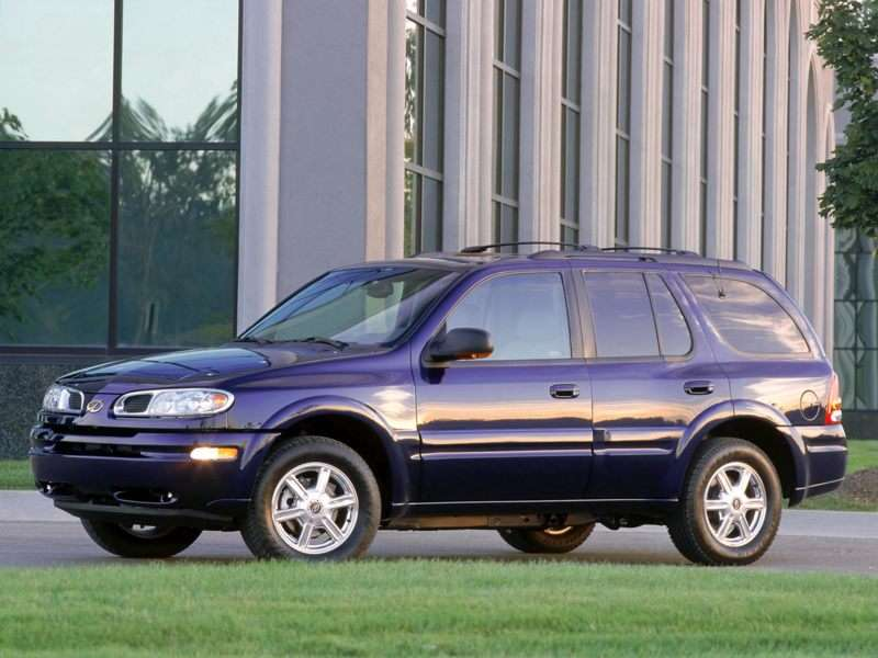 Oemexteriorfront on 2000 Oldsmobile Bravada Recalls