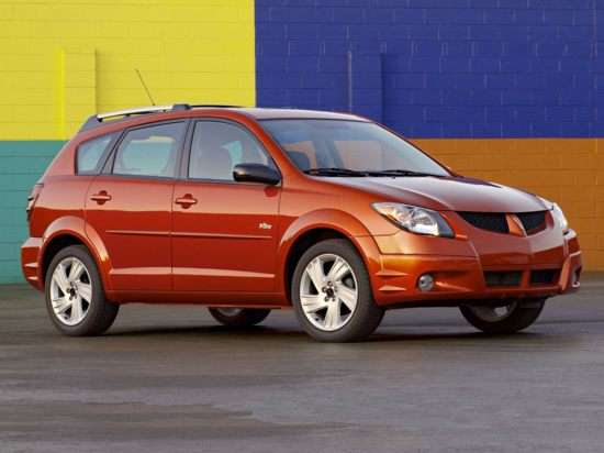 2004 Pontiac Vibe Models Trims Information And Details