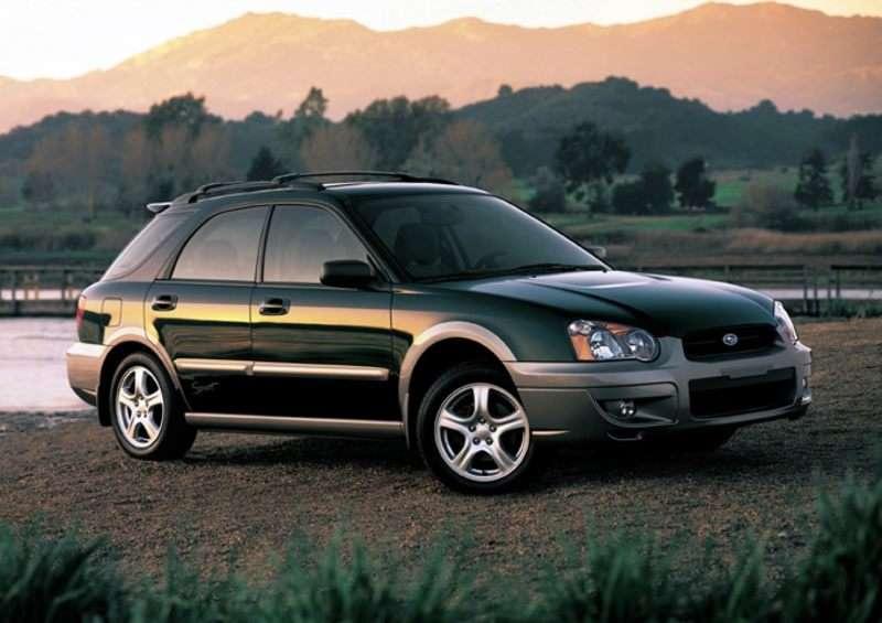 2004 Subaru Impreza Outback Sport Pictures Including Interior And