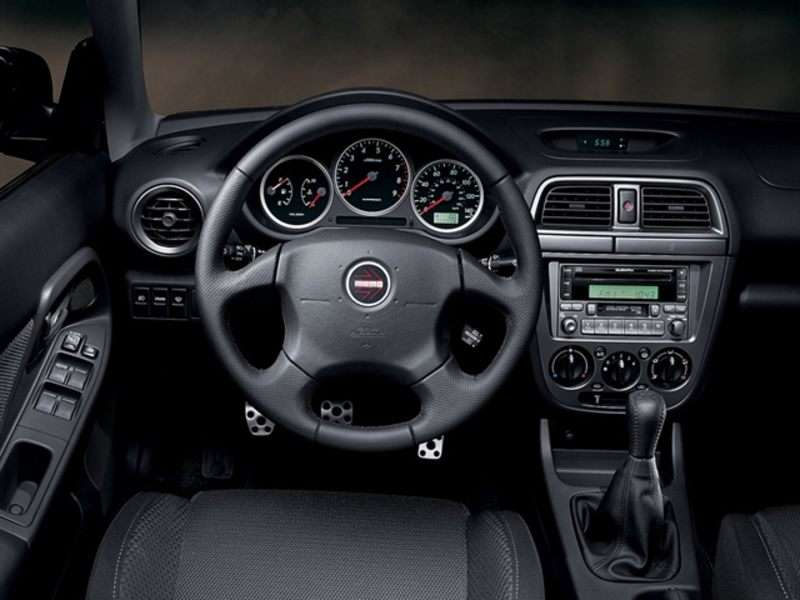 2004 Subaru Impreza Wrx Sti Interior