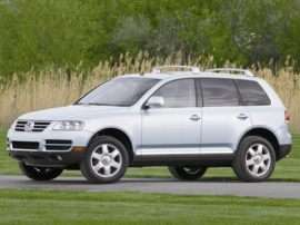 2004 Volkswagen Touareg V6 4dr All-wheel Drive