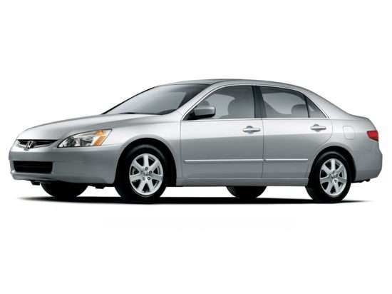 2005 Honda Accord 2.4 DX (A5) Sedan