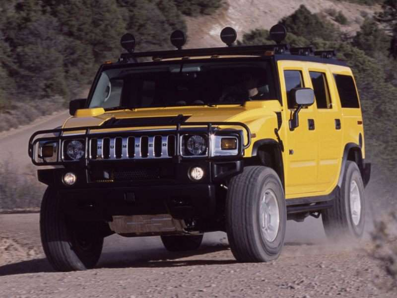 2005 Hummer H2 Suv Pictures Including Interior And Exterior Images