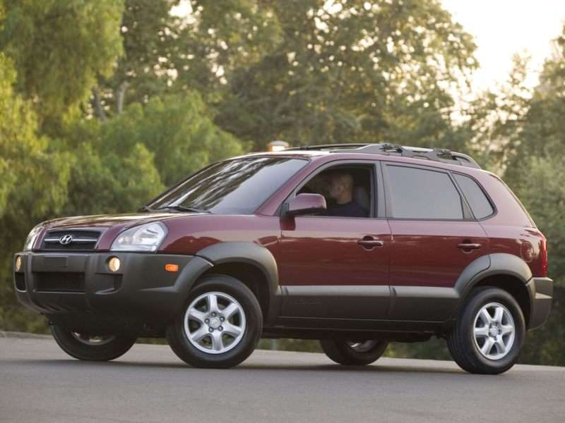2005 Hyundai Tucson Pictures Including Interior And Exterior Images