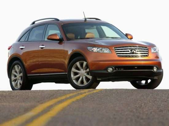2005 Infiniti Fx45 Models Trims Information And Details