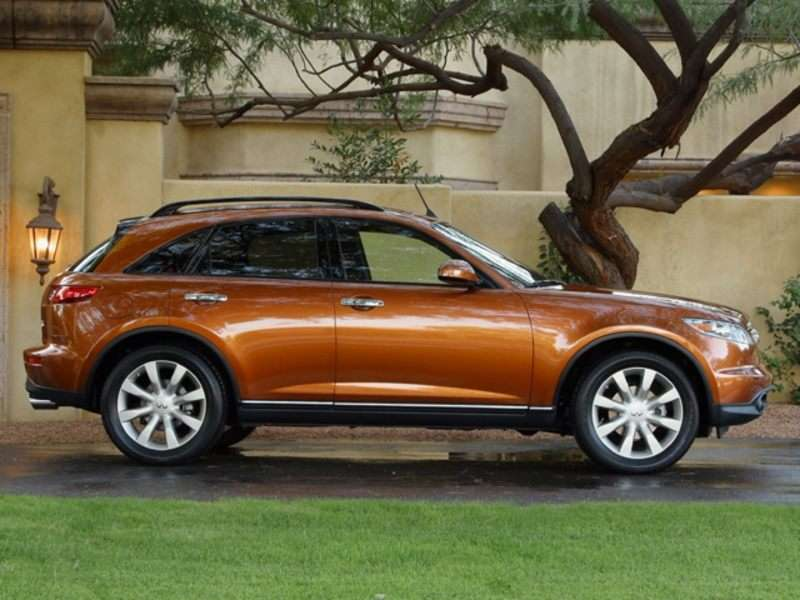 2005 Infiniti Fx45 Pictures Including Interior And Exterior Images