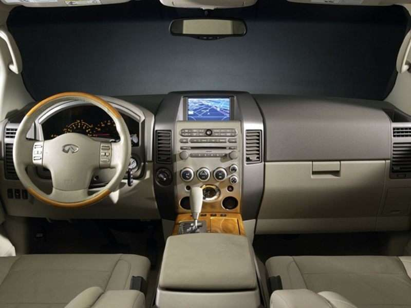 2005 Infiniti Qx56 Pictures Including Interior And Exterior Images