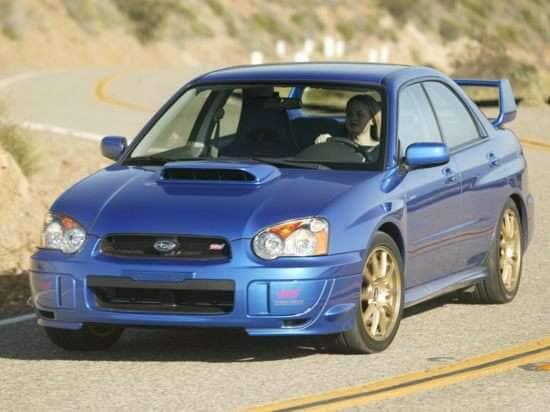 2005 Subaru Impreza Wrx Sti Models Trims Information