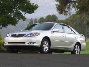 2005 Toyota Camry Gas Mileage, MPG, and Fuel Economy Ratings