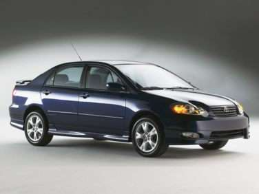 2005 Toyota Corolla Mpg >> 2005 Toyota Corolla Gas Mileage Mpg And Fuel Economy