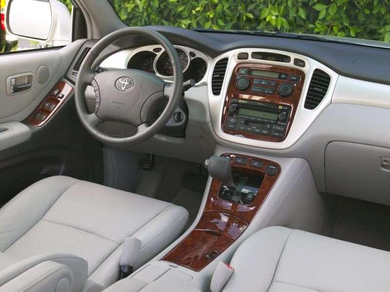 Toyota Highlander Pictures Including Interior And Exterior - 2005 highlander