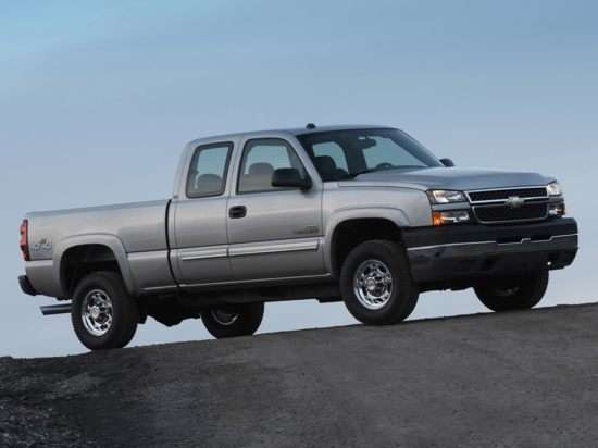 2006 Chevrolet Silverado 2500HD LT2 4x2 Extended Cab Long Box