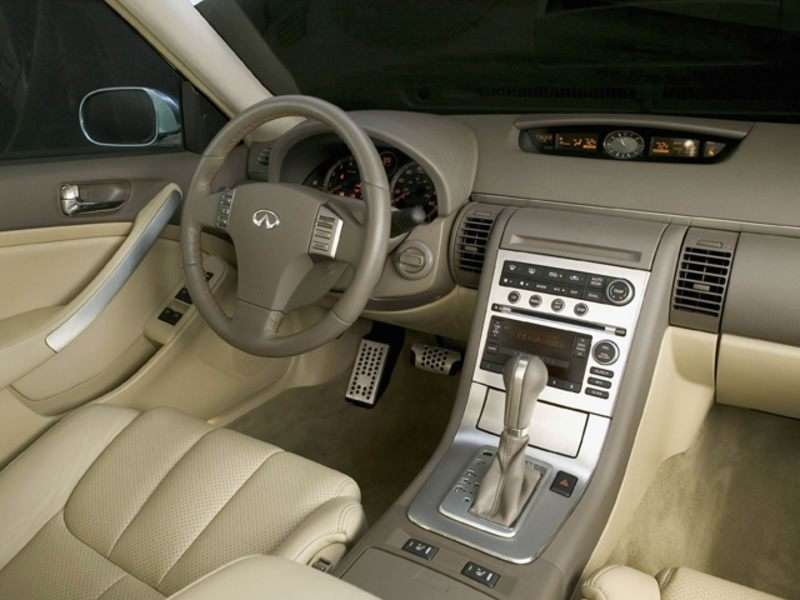infiniti g35 2005 g35x sedan 2006 interior sport autobytel 4d models find learn dashboard msrp larger