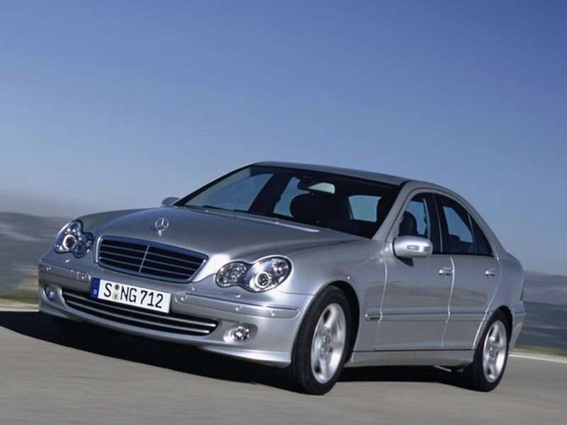 2006 mercedes benz c class preview. Black Bedroom Furniture Sets. Home Design Ideas