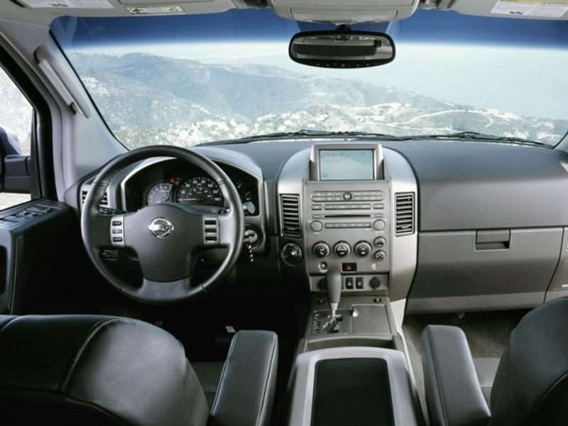 Nissan Armada 2006 Interior Photos | www.indiepedia.org