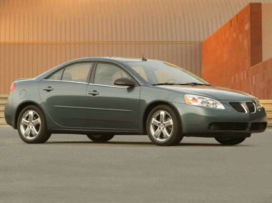 2006 Pontiac G6 Models Trims Information And Details