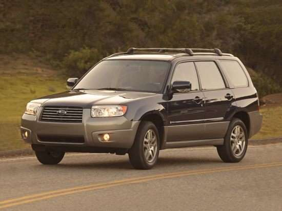 2006 Subaru Forester 2.5X w/Premium Package (A4)