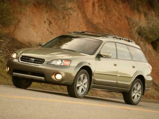 2006 Subaru Outback 3.0R VDC Limited With Navigation (A5) Wagon