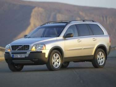 2006 Volvo Xc90 Gas Mileage Mpg And Fuel Economy Ratings Autobytel Com