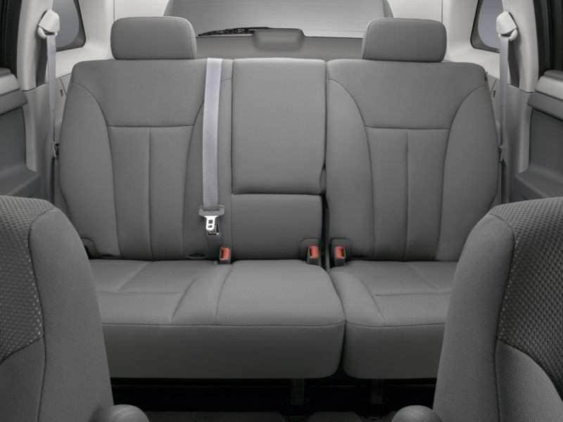 Chrysler pacifica 2007 interior