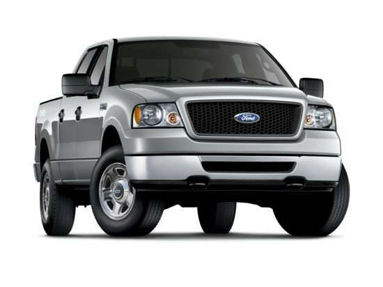 2007 Ford F-150 SuperCrew Lariat 4x2 SuperCrew Cab Styleside Styleside 5.5'