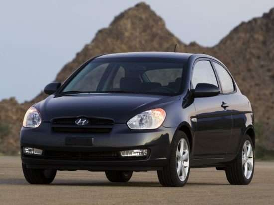 2007 Hyundai Accent GS (A4) Hatchback
