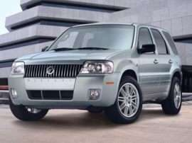 2007 Mercury Mariner Convenience 4dr Front-wheel Drive