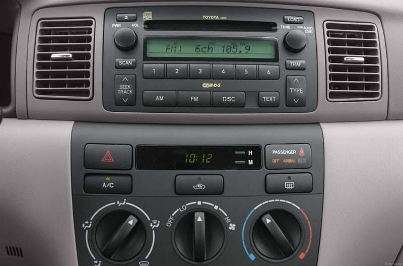 2007 Toyota Corolla Pictures Including Interior And Exterior Images Rhautobytel: 2007 Toyota Corolla Le Radio At Elf-jo.com