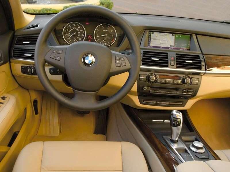 Bmw x5 2008 interior