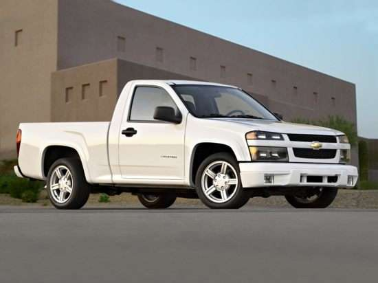 2008 Chevrolet Colorado Work Truck 4x2 Regular Cab
