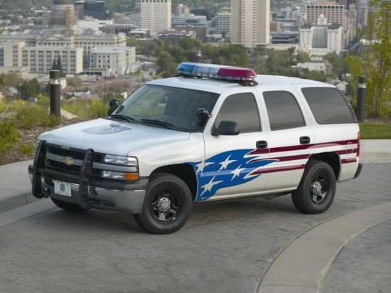 2008 Chevrolet Tahoe Police Vehicle 4x2
