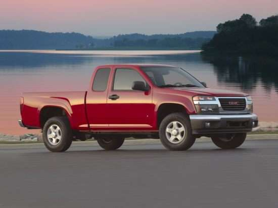2008 GMC Canyon SLE2 4x4 Extended Cab