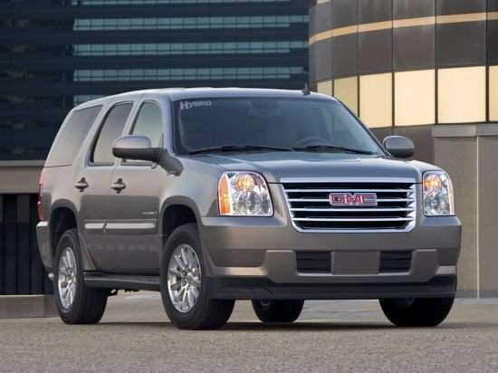 2008 Gmc Yukon Hybrid Models Trims Information And Details