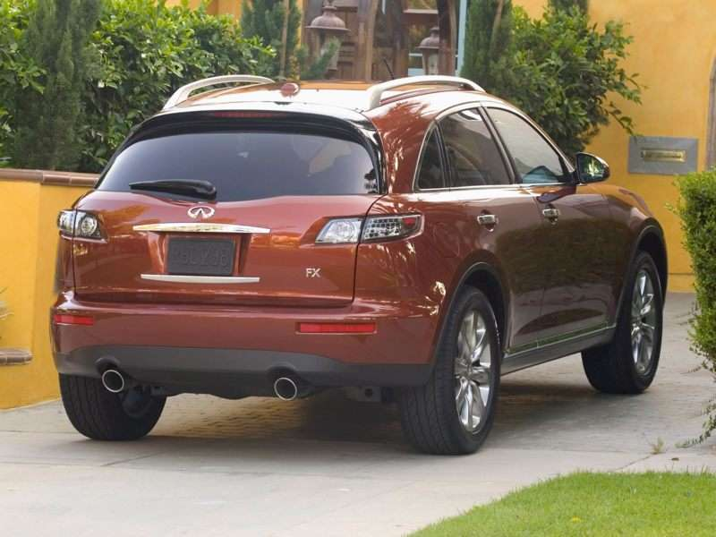2008 Infiniti Fx35 Pictures Including Interior And Exterior Images
