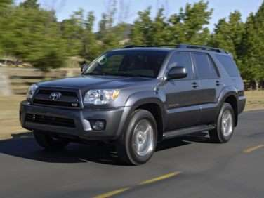 2008 Toyota 4runner Gas Mileage Mpg And Fuel Economy Ratings