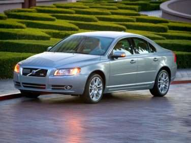 2008 Volvo S80 Gas Mileage Mpg And Fuel Economy Ratings