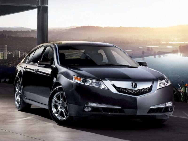 Kelley Blue Book ® - 2009 Acura TL Overview