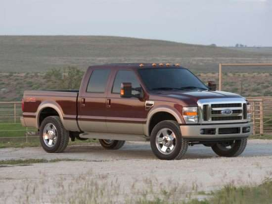 2009 Ford F-350 Lariat 4x4 SD Crew Cab Short Box