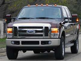2009 Ford F-350 FX4 4x4 SD Super Cab 158 in. WB SRW