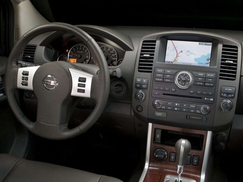 2009 Nissan Pathfinder Pictures Including Interior And Exterior