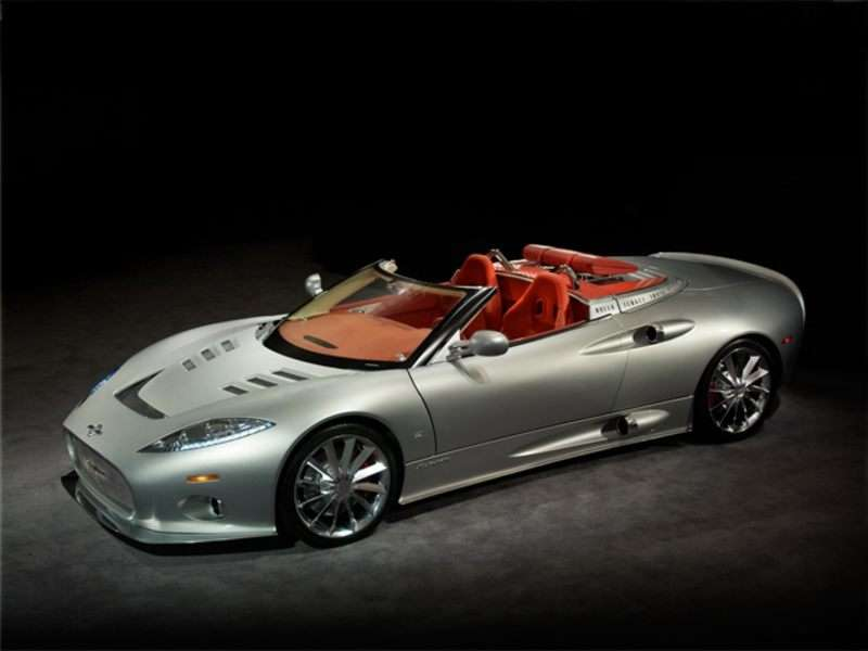 2009 Spyker C8 Spyder Pictures Including Interior And Exterior Images Autobytel