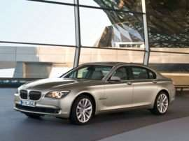 2010 BMW 750 i 4dr Rear-wheel Drive Sedan