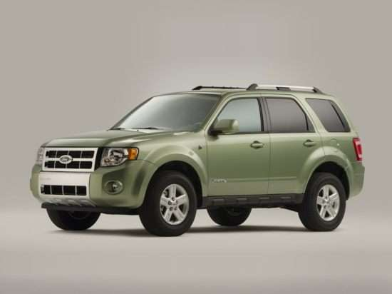 2010 Ford Escape Hybrid Pictures Including Interior And