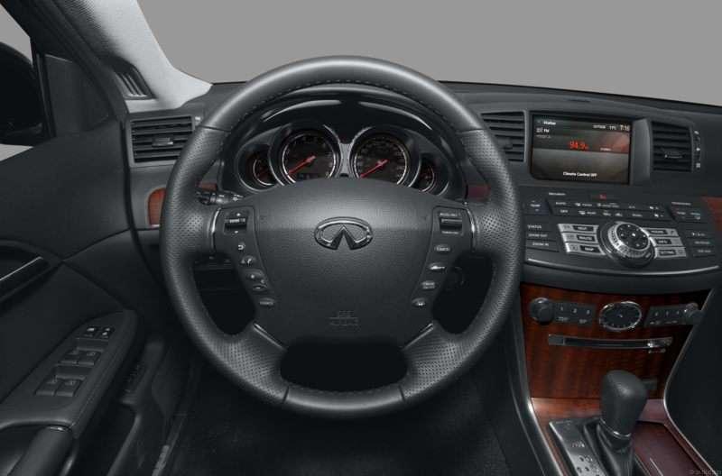 2008 infiniti m35 interior
