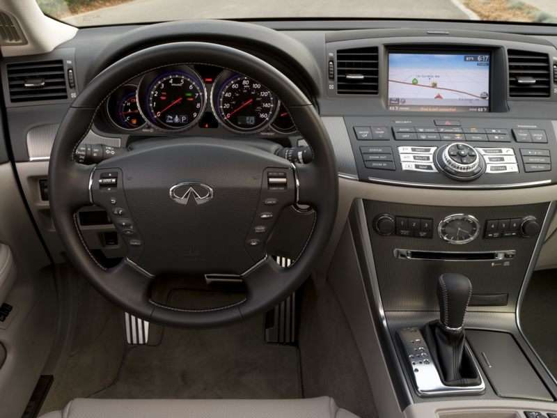 2010 Infiniti M45 Pictures Including Interior And Exterior Images