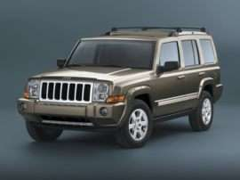2010 Jeep Commander Sport 4dr 4x2
