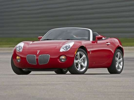2010 Pontiac Solstice Models Trims Information And Details Autobytel
