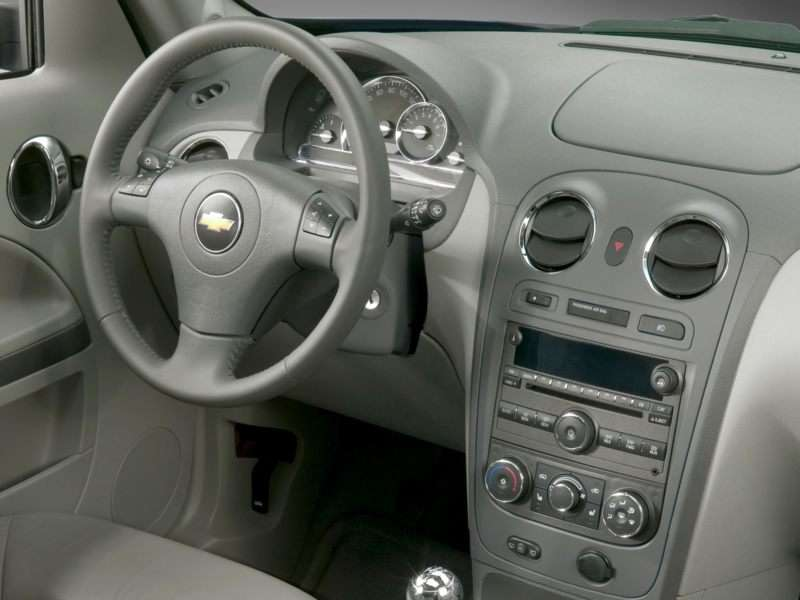 2011 chevy hhr inside
