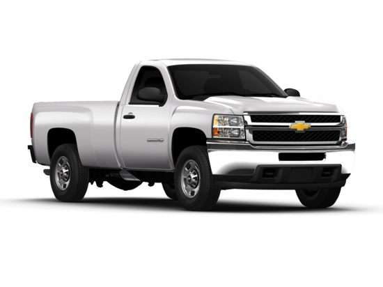 2011 Chevrolet Silverado 2500HD Work Truck 4x4 Regular Cab