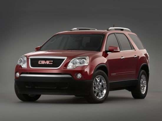 2011 gmc acadia denali road test and review. Black Bedroom Furniture Sets. Home Design Ideas